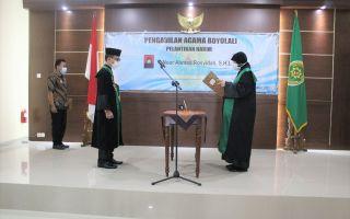 Pelantikan Hakim Pengadilan Agama Boyolali, Ibu Noor Ahmad Rosyidah, S.H.I