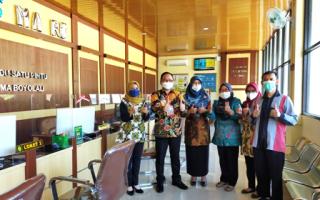 Kunjungan Singkat Ketua PTA Semarang di PA Boyolali