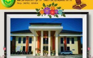 Pembangunan Gedung Baru PA Boyolali Tahap 2 oleh Pemkab Boyolali